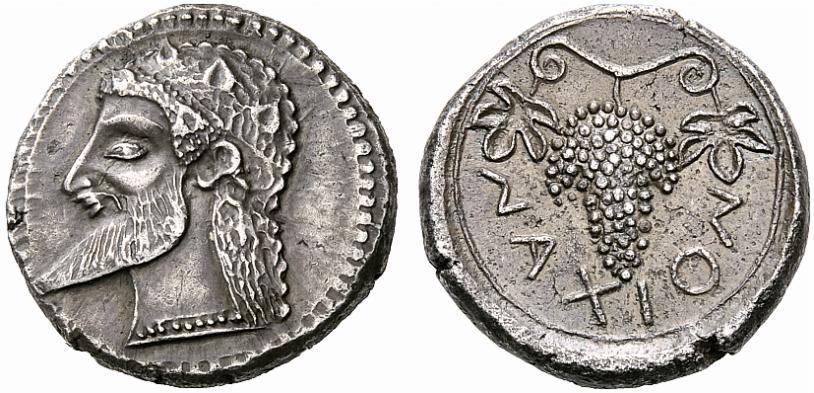 Greek Coins from Naxos, Sicily | Hogshead - A Wine Blog