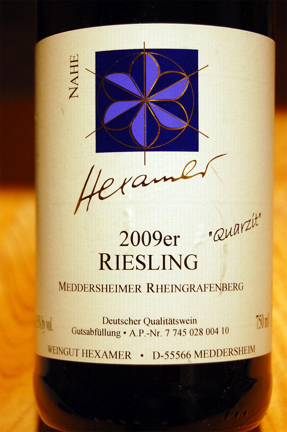 Weingut hexamer meddersheimer rheingrafenberg riesling for Polygonalplatten quarzit tropical yellow