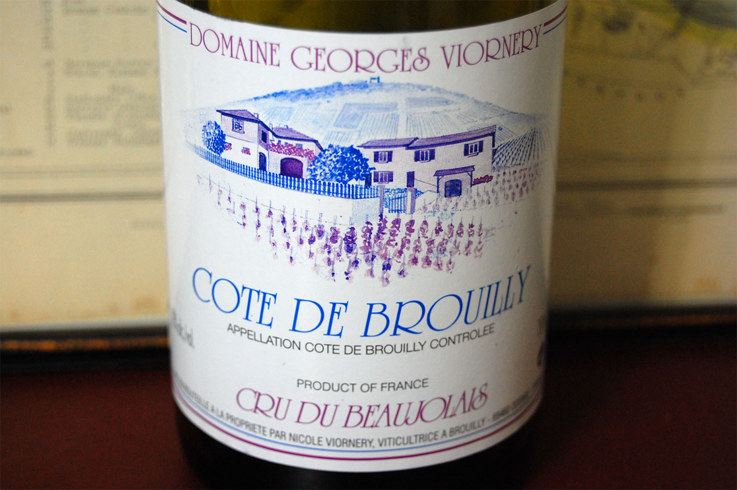 Georges Viornery Cote de Brouilly Cuvee Unique