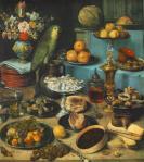 Still-Life with Parrot, Georg Flegel, Alte Pinakothek, Munich