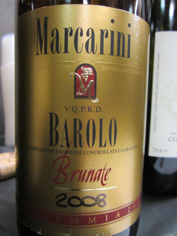 Barolo Brunate Marcarini 2008 Marcarini Brunate