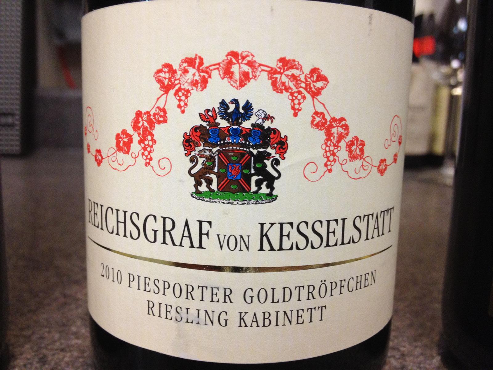 Tasting the wines of Reichsgraf von Kesselstatt | Hogshead - A ...