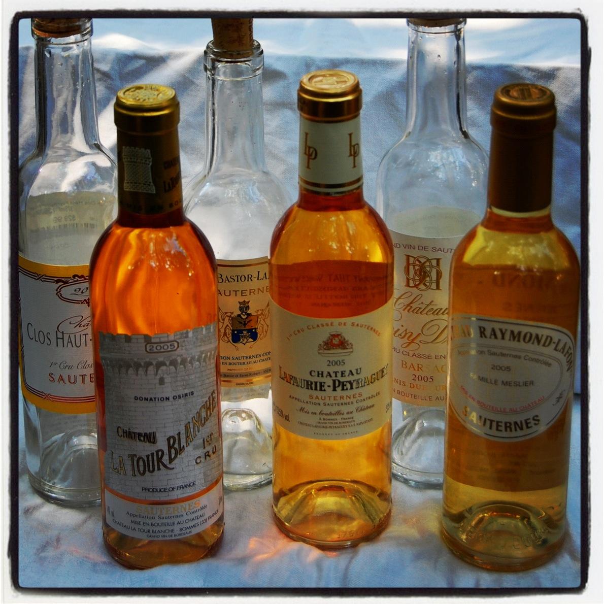 We Taste a Small Selection of 2005 Sauternes | Hogshead - A Wine Blog