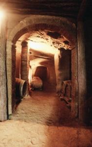 Etrurian Tomb, Image from Fattoria Fibbiano