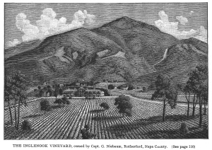 Inglenook, Wines and Vines of California, Image from Thirstyreader.