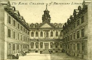 The Royal College of Physitians London, Image from Royale College of Physicians