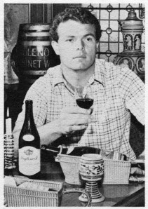 Inglenook Winemaker Tom Ferrell, Image from The 8th Premier National Auction of Rare Wines, 1976.