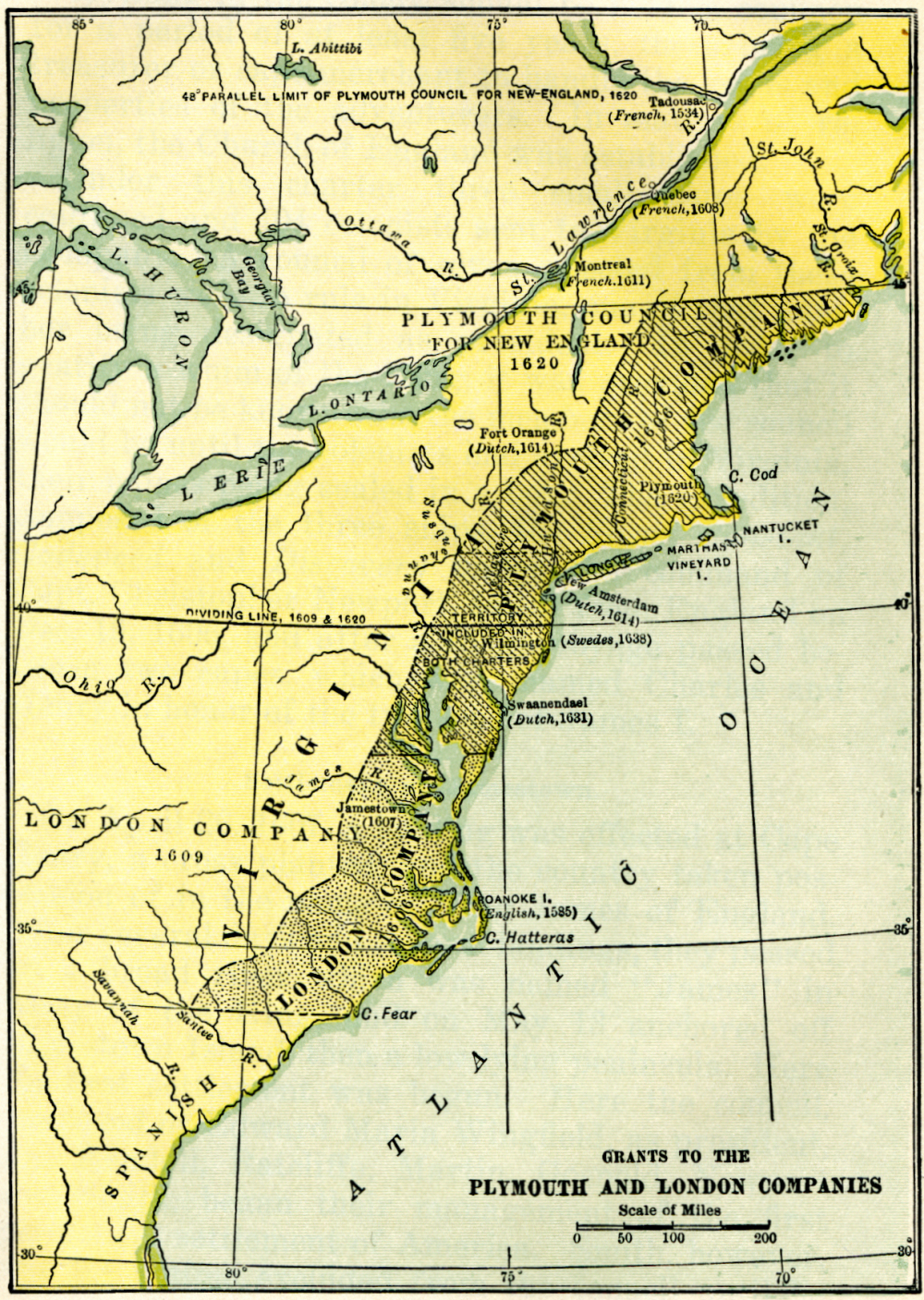 13 Colonies Map With Rivers Of the colony of virginia