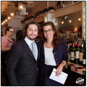 Aaron Gordon and Ana Fabbiano
