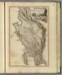 The Dutch Coloony of the Cape of Good Hope. Louis Delarochette, 1795. Image from the David Rumsey Map Collection.
