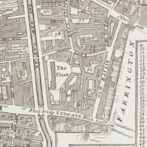 "From ""Farringdon Without Ward and Castle Baynard Ward"" John Strype, 1720. Copyright Motco Enterprises Limited."
