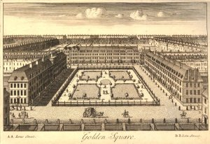 """Golden Square"" John Bowles(?), 1727. #1880,1113.2987. The British Museum."