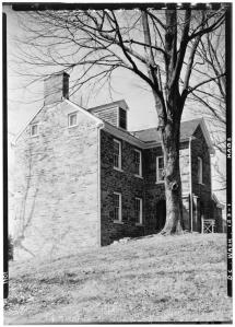 Linnean Hill, Historic American Building Survey, Albert S. Burns. 1934-1935. No. HABS DC,WASH,123--1.Library of Congress Prints and Photographs Division.