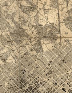 First Crop from Topographical map of the District of Columbia. McClelland, Blanchard & Mohun, 1861. No. G3850 1861 .B6.  Library of Congress Geography and Map Division.