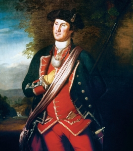 Portrait of Colonel George Washington. Charles Wilson Peale. 1772.  From Google Images.