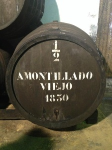 El Maestro Sierra, Amontillado 1830, Image from Jeffrey Snow
