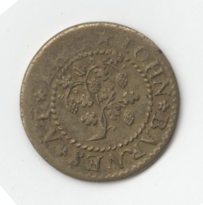 #1193, halfpenny, T.3095. Image from The British Museum.