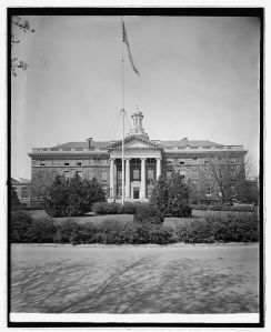 Walter Reed General Hospital. 1918-1928.  LC-F82-2477.  National Photo Company Collection (Library of Congress)