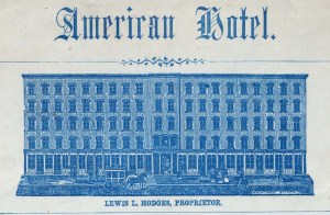 American Hotel. Image from NYPL.