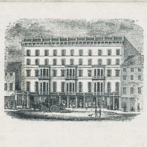 American House. Image from NYPL.