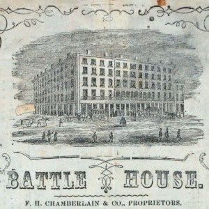 Battle House. Image from NYPL.