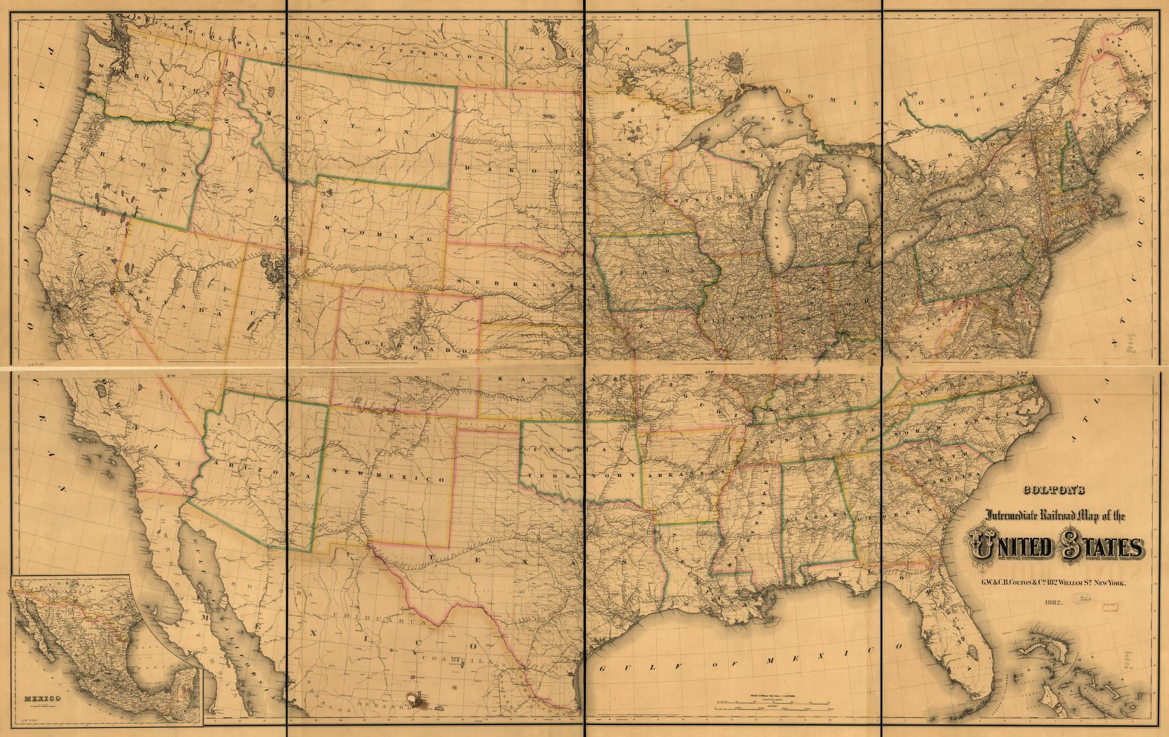 The Top Ten Wine Producing States In As Compared To - Railroad map us 1880