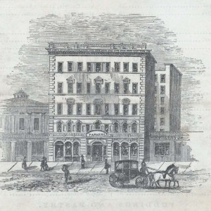 Parker House. Image from NYPL.