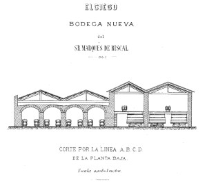 Elciego, Bodega Nueva del Sr. Marques de Riscal.