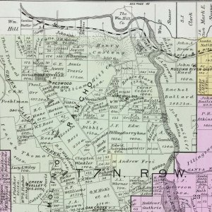Crop from Illustrated atlas of Sonoma County, California. Reynolds & Proctor. 1898. David Rumsey Map Collections.