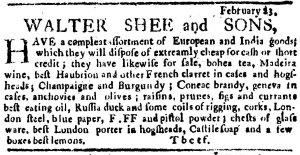 February 23, 1764. []