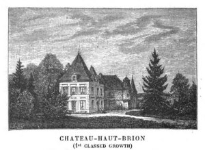 Chateau Haut-Brion. Cocks and Ferret. Bordeaux and Its Wines. 1899.