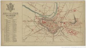 1893. Angoulème, plan indicateur, mis à jour / par A. Peraqui ; dessiné par A. Néermann. Gallica Bibliotheque Numerique.