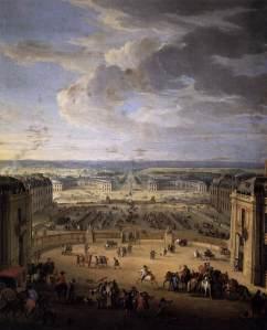 View of Versailles. MARTIN, Pierre-Denis. 1722. Musée National du Château, Versailles. Web Gallery of Art.