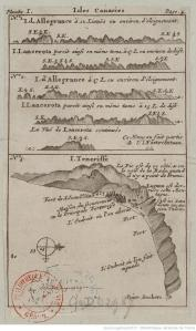 Isle Canaries. 1700-1799. Bibliothèque nationale de France, département Cartes et plans, GE DD-2987 (8476)