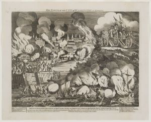 The taking of the city of Washington in America. Smithfield, West. October 14, 1814. Library of Congress Prints and Photographs Division.