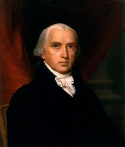 James Madison. Vanderlyn, John. 1816. Google Art Project.