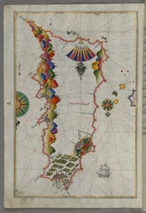 Map of Rhodes Island. [1]