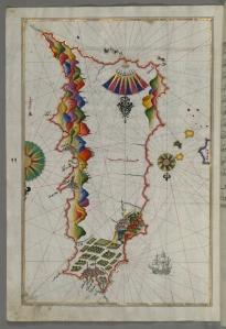Map of Rhodes Island. [1]