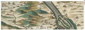 Zoom. Umgebungskarte von Wien, 1:95 000, Radierung, nach 1692. [2]