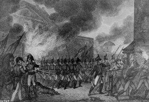Capture of the City of Washington. de Rapin-Thoyras, Paul. August 1814. National Archives.