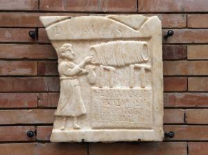 Estela de SENTIA AMARANTIS - Lápida. 176-300. Ministerio de Educación, Cultura y Deporte. [1]