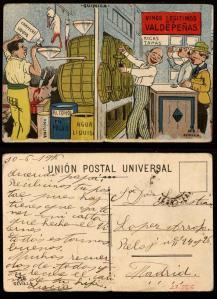 Adulteración del vino. ca. 1916. [1]