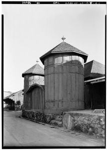 Exterior, General View, Northwest Corner, Fountain Grove Winery. [1]