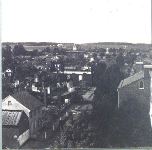Chambersburg, PA during the Civil War. [2]