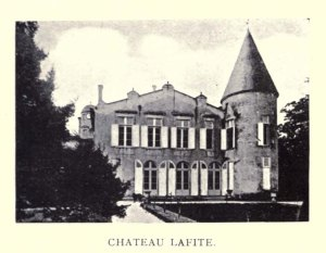 Chateau Lafite. Image from Clarets and Sauternes. [8]