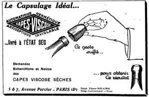 Le Capsulage Ideal. 1929. [1]