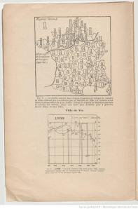 Map detailing the per capita consumption of liquor with line indicating the limit of the cultivation of the vine. 1906. [1]
