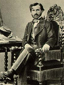 Giuseppe Verdi. 1859.  Image from Wikipedia.
