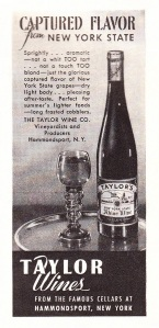 Taylor Wine, New York State. 1947. Image from Classic Film. Flickr.