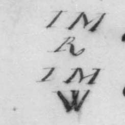 The Marks for James Madison's cases of white wine and 1798 Ch. Haut-Brion red wine.